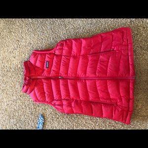 Pink Patagonia vest